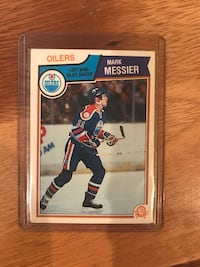 1983-84 Mark Messier Hockey Card Calgary, T2M 2P2