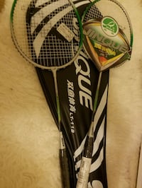 Brand New Jinque Badminton Rackets Washington, 20011