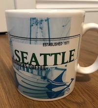 Unused NEW Starbucks SEATTLE Mug Collectable Richmond