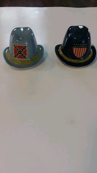 North and South  salt and pepper shakers  Hagerstown