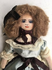 Old Antique Handmade Cloth DOLL Toronto, M6N 2H4