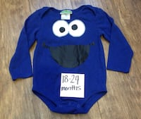 blue and white Mickey Mouse print sweater Winnipeg, R2L 1V7