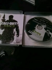 Call of Duty MW3 PS3 game disc South Bend, 46628