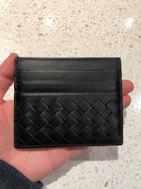 Brand New BottegaVeneta Card Case Black