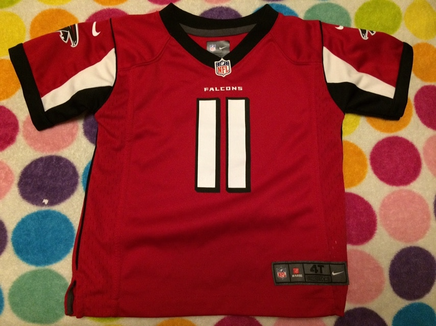 Photo Official Atlanta Falcons #11 Jersey Sz 4t
