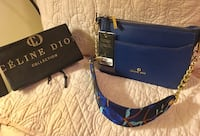 New Celine Dion crossbody with embroidery strap