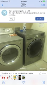 LG HE heavy duty washer and dryer  Atlanta