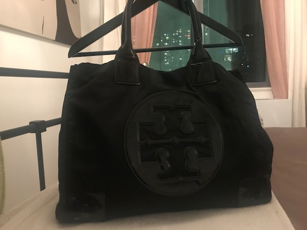 70ba1a83f029 Used Authentic Tory Burch Nylon Tote Bag for sale in New York - letgo