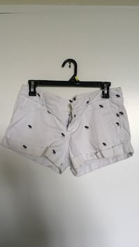 women's white denim short shorts Toronto