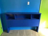 black flat screen TV with black wooden TV stand Oro-Medonte, L3V