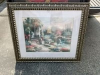 brown wooden framed painting of house Fort Walton Beach