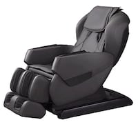 New leather massage chair