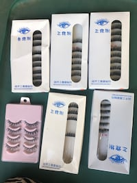 Six boxes of false eyelash Orangevale, 95662