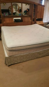 Sleep number model 7000 king bed with standard King foundation & frame Winchester, 22601