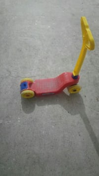 Plastik scooter