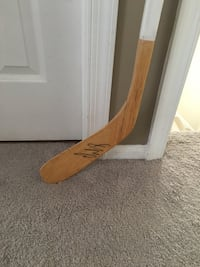 Alex Ovechkin Washington Capitals autographed ice hockey stick Manassas, 20110