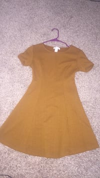 women's brown scoop-neck dress Houston, 77073