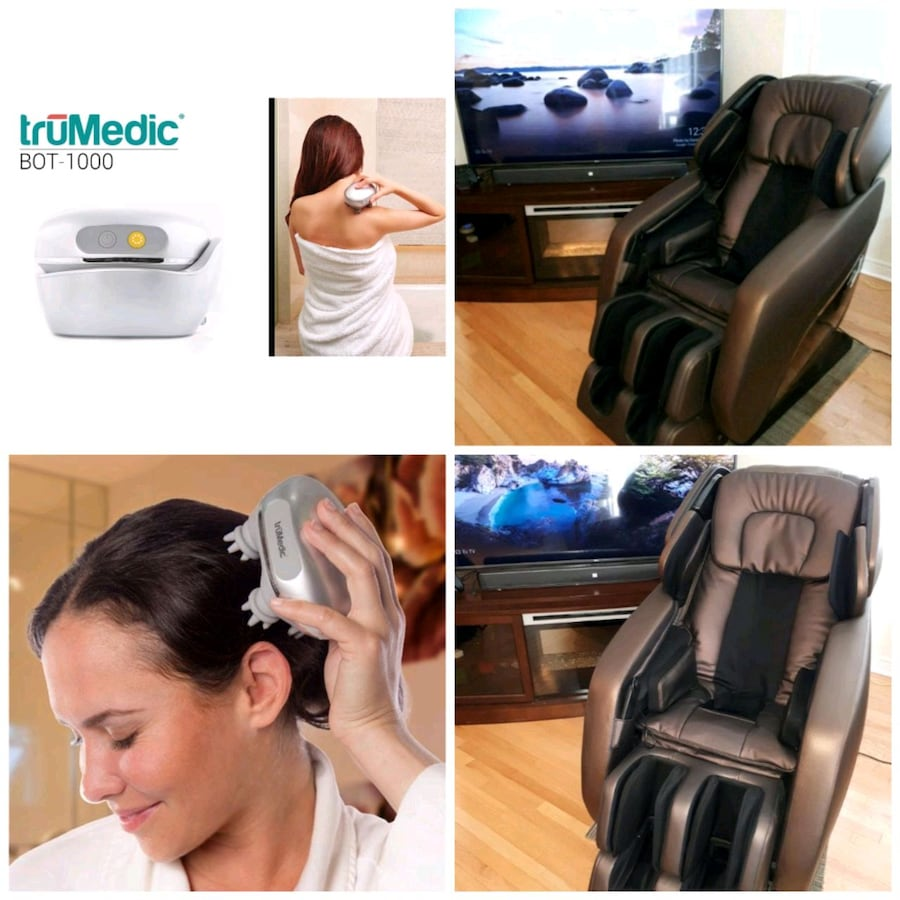 《 truMedic MC-2000 》 3D InstaShiatsu Massage Chair