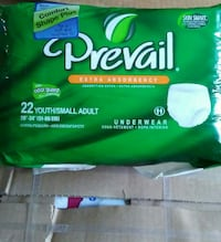Prevail Adult Underwear 22ct/Sm 44 km