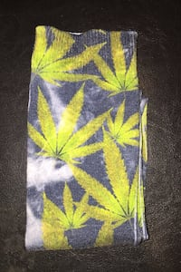 Ganja Graphic Socks