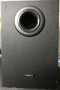 black Creative multimedia speaker New Carrollton, 20784