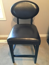 Two Faux Leather Bar Stools Spruce Grove, T7X 0C6