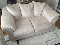 Beige fabric sofa set Okemos, 48864