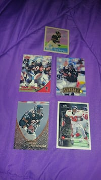 Jamal Anderson NFL trading cards
