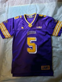 Derrius Guice LSU college jersey