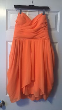 Bright orange dress- medium- $45 obo Calgary, T2Y 4M3