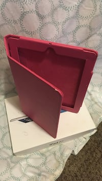 pink leather smart case