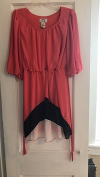 women's red and black long-sleeved dress Chesapeake, 23324