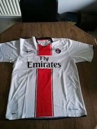 maillot Nike blanc et rouge Le Havre