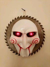 """CUSTOME 11x11 SAW """" BILLY"""" HANGING MASK Allentown, 18104"""