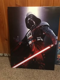 Marvel Comic Decor & Darth Vader Decor - $10 a piece or $30 for all 4 pieces