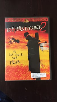 Jeepers Creepers DVD case Guelph, N1G 2Y7
