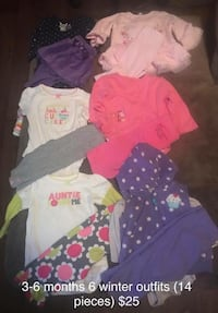 3-6 month fall/winter outfits  Murfreesboro, 37127