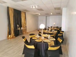 Chic event venue for rent