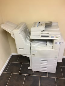 Gray photocopier