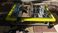 New Ryobi 7in Tabletop Tile Saw with blade Hallandale Beach, 33009