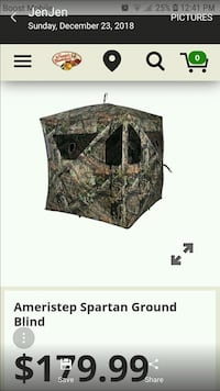 Hunting blind Sperryville, 22740
