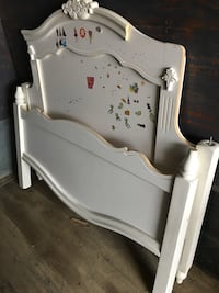 Full size headboard and footboard and frame Junction City