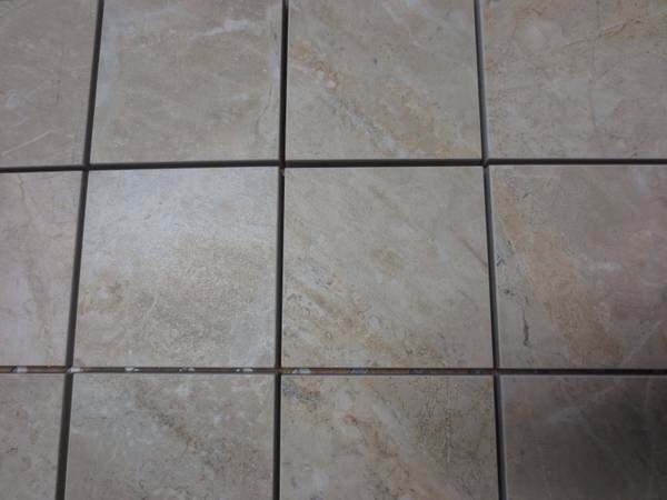 Used Ae96 Crema Porcelain Indoor Outdoor Floor Tile 12x 12 For