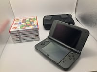 Nintendo 3DS with 5 Games and a case Toronto, M5H 2M8