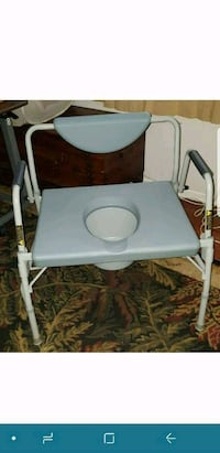Drive Medical Deluxe Bariatric Drop-Arm Commode, G Albany, 12203