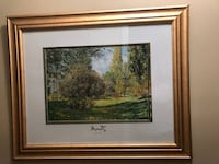 Le Parc Monceau Paris' by Claude Monet Print 33 x 28  Brick