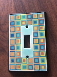 Light switch cover.
