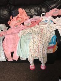 Brand new clothes for baby girls 3-6 months