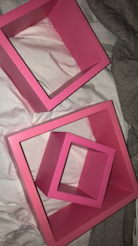 Set of 3 Pink Shadow Boxes Winnipeg, R3T 5W3