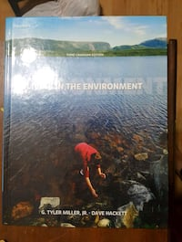 Living in the Environment 3rd Canadian edition Oakville, L6H
